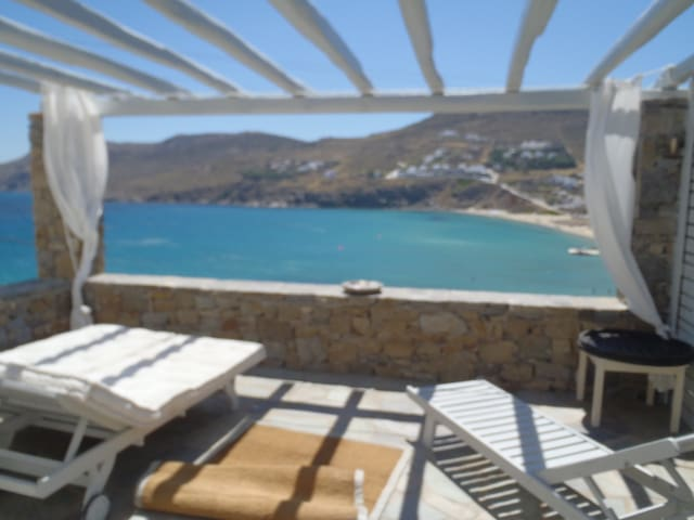 SEA VIEW FLAT BY THE BEACH-6 GUESTS - Mikonos - House