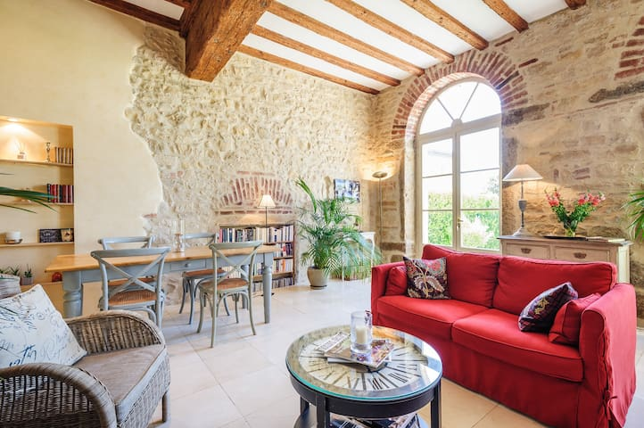 Lovely duplex in the Beaujolais - Arnas - Apartemen