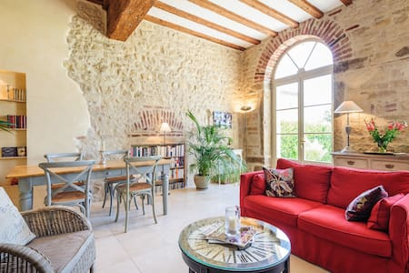 Lovely duplex in the Beaujolais - Arnas - アパート