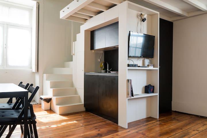 Clérigos Apartments - Apt. 4E for 2/3 People