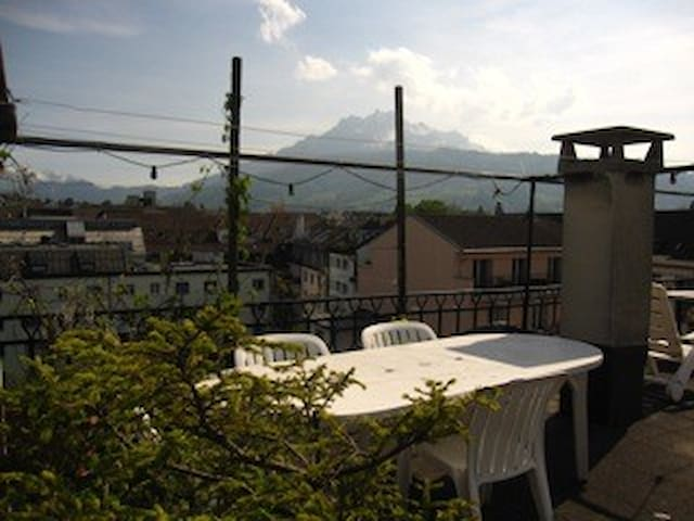 Nice, charming and quite guestroom - Lucerne - Apartemen
