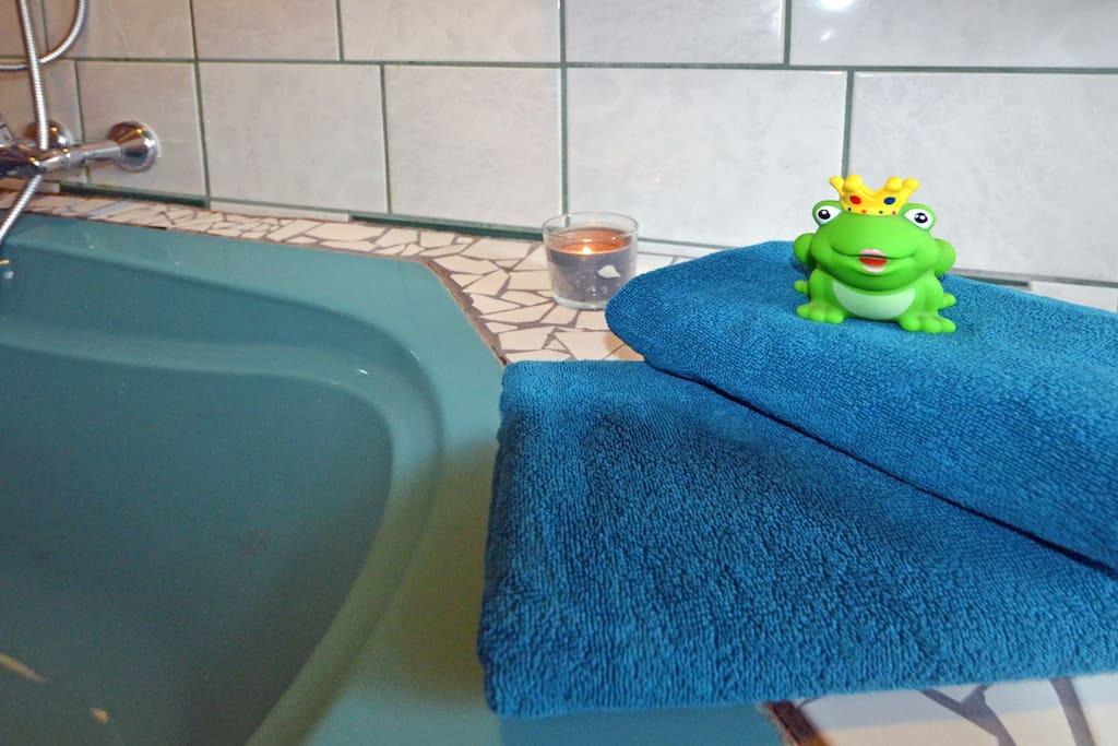 Für das Wesentliche ist gesorgt - Handtücher und Bettzeug