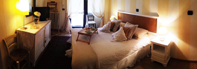 La Rocca di Cavour - stanza doppia - Cavour - Bed & Breakfast
