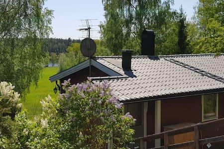 Idyllic cottage with amazing nature & lake view!