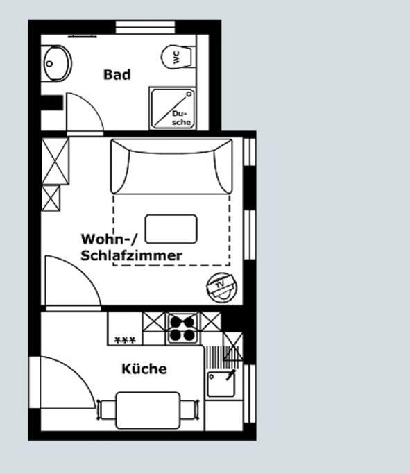 Wohnungszuschnitt