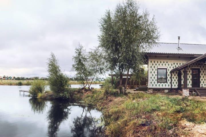 Уютный гостевой дом на живописном озере - Kasan - Gästehaus