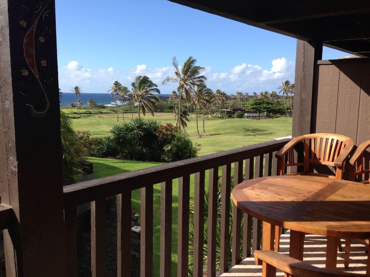 The view from your lanai