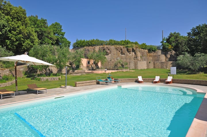 Ortensia 6 - Vacation Rental with swimming pool in near Bolsena Lake