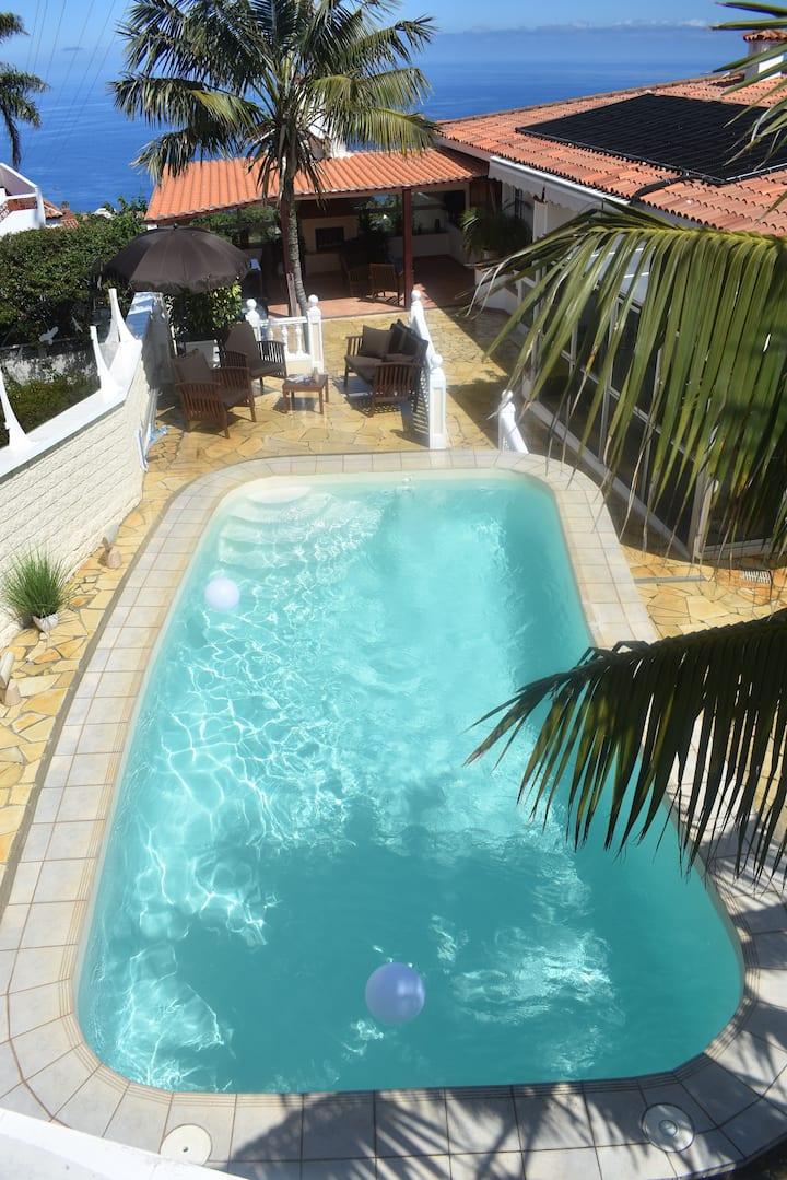 Komfort Wellness Haus beheizter Pool Sauna Spa