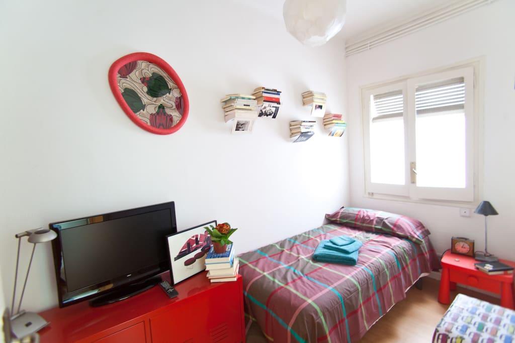 esta es tu habitación - this is your room
