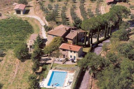 Tuscan Farmhouse - Bucine / Arezzo - Bucine - Wohnung