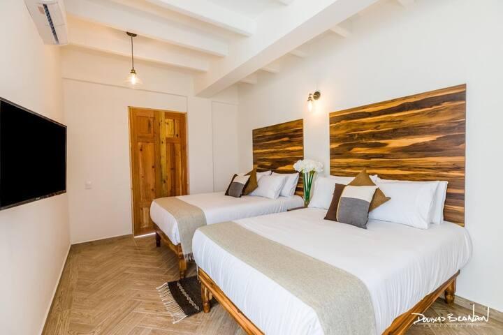 Hotel Tabáa Oaxaca Doble Matrimonial Planta Alta