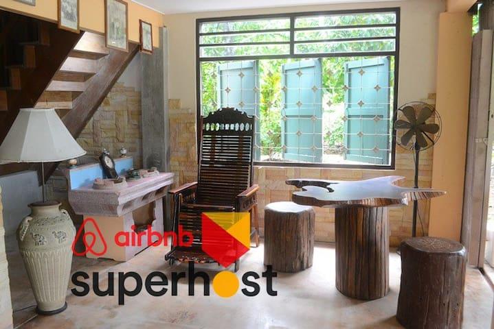 ฺBaanKruChin (Rambutan) :  Stay among fruit trees
