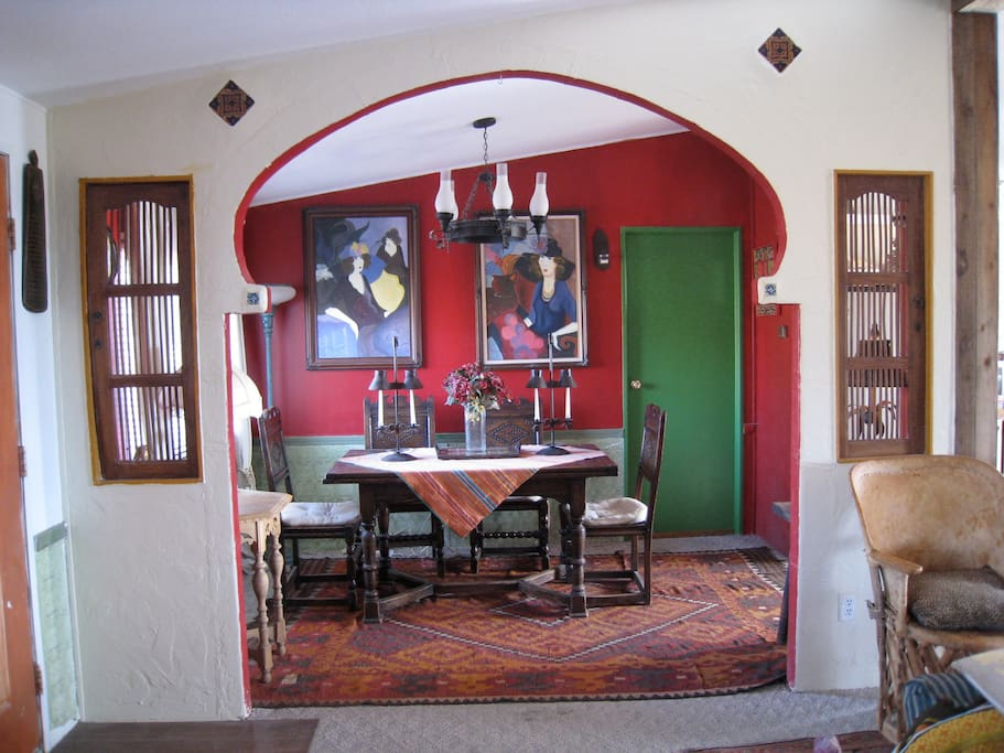 Casa Grande Dinning room at Rancho Mojave