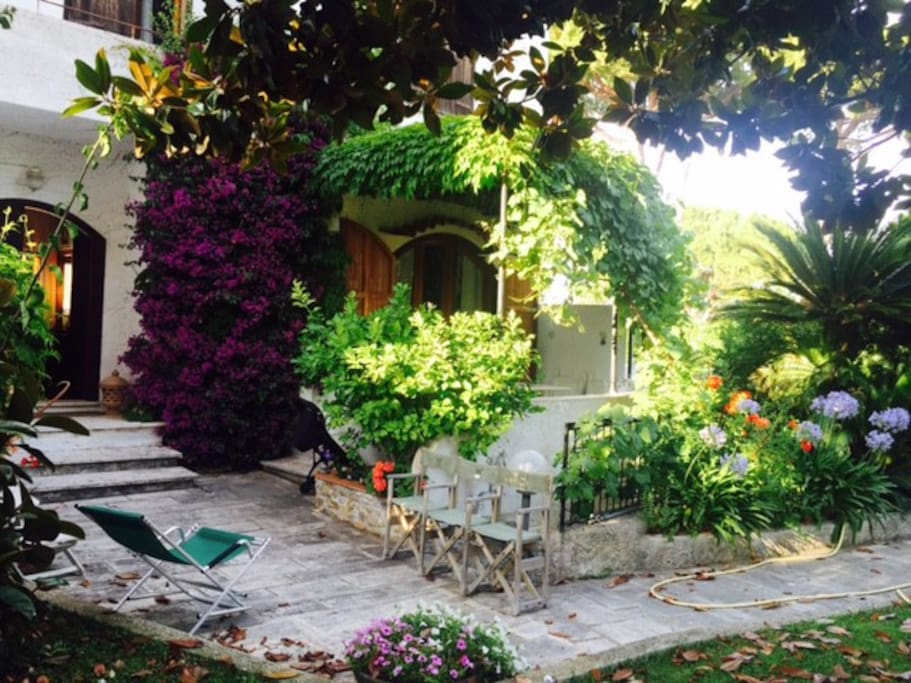 giardino entrata