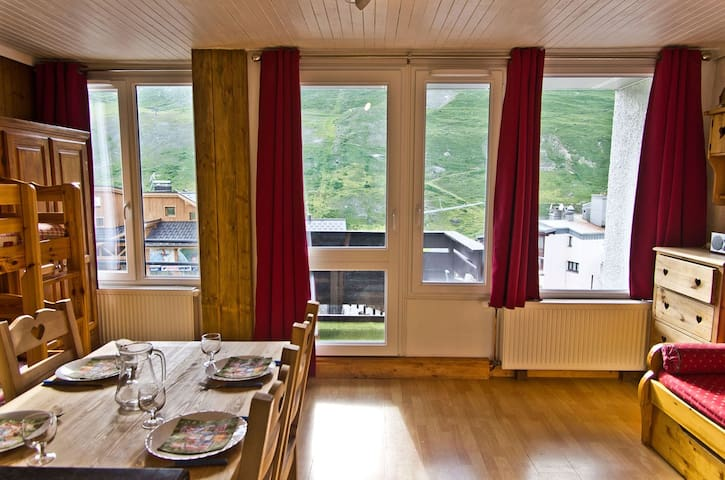 Ski apartment for 4 people in Tignes Val Claret - Tignes - Apartemen