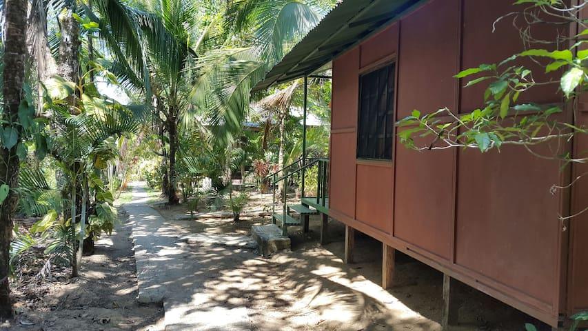 Cabinas palmera rincón san josesito - Bahía Drake - กระท่อม