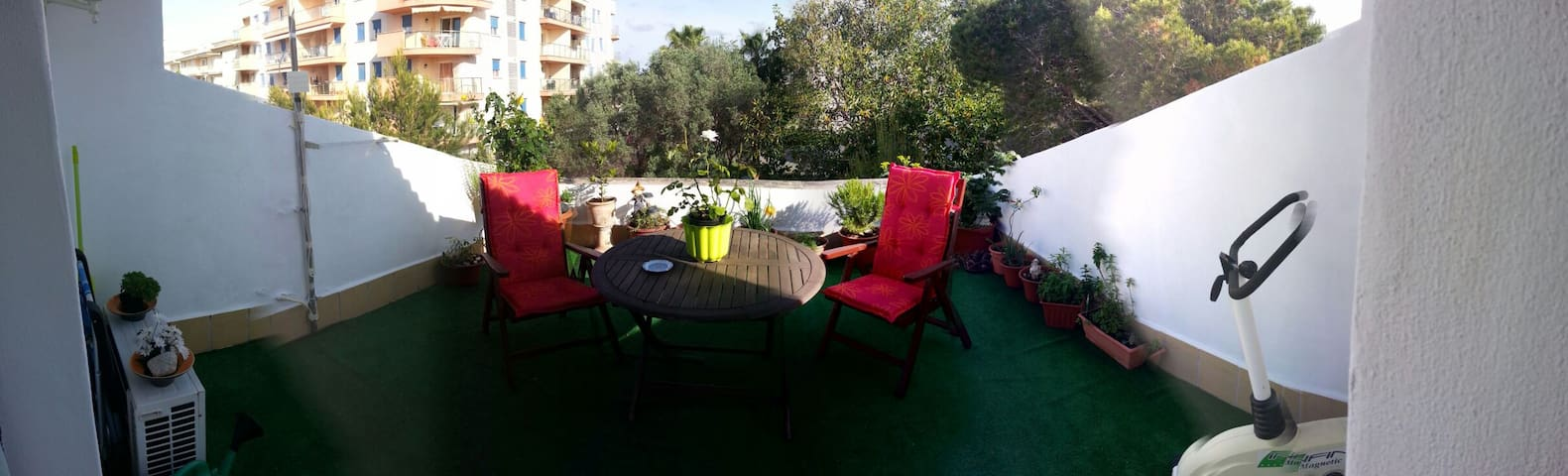 Double room with terrace and bathro - Port de Manacor