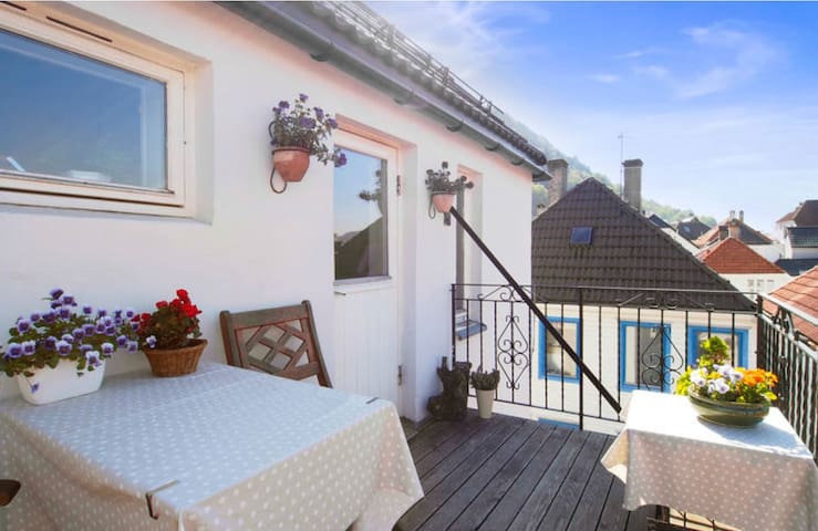 Beautiful apartment with a view - Bergen - Apartament