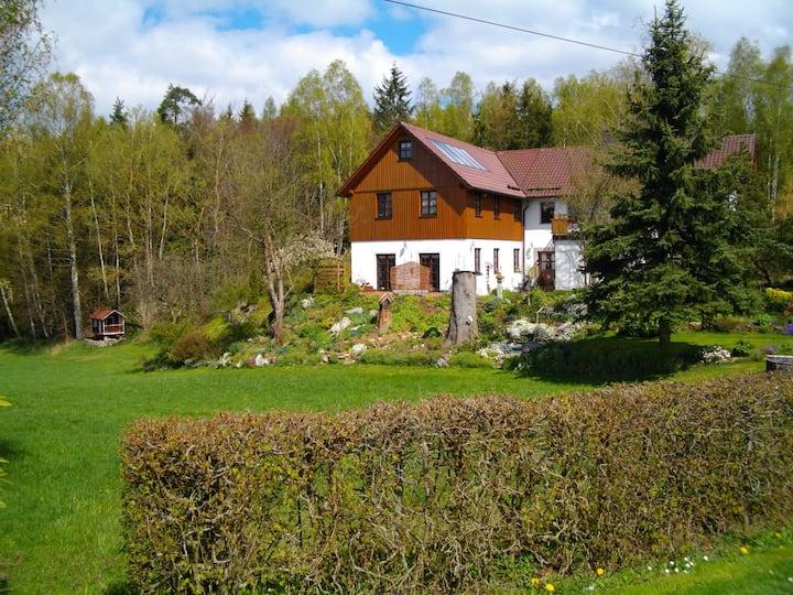 Ferienhaus mit Garten, Oberpfalz
