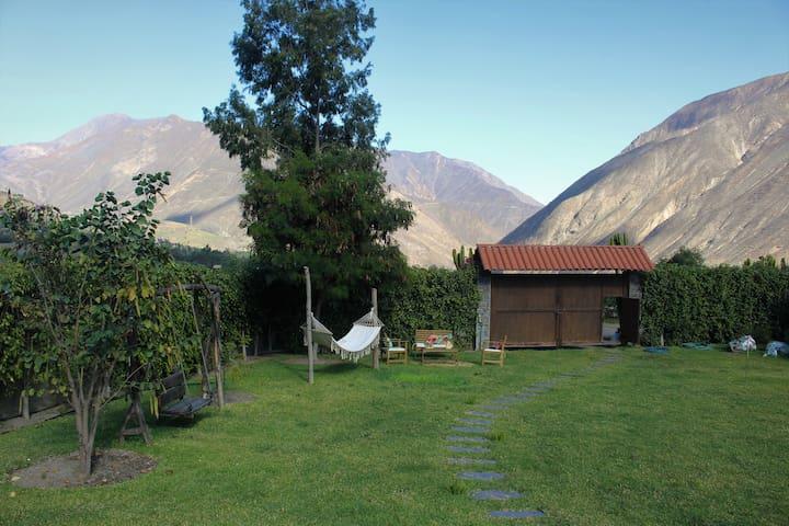 Pedacito de cielo - Bella casa de campo en Lima