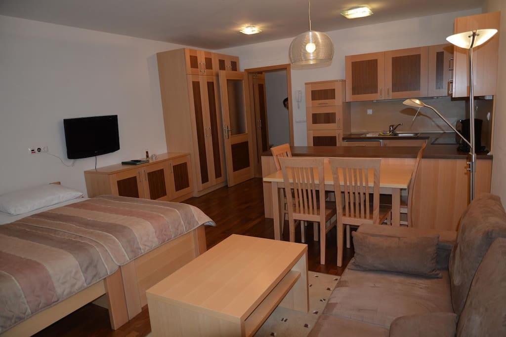 Apartment 2+2 - studio