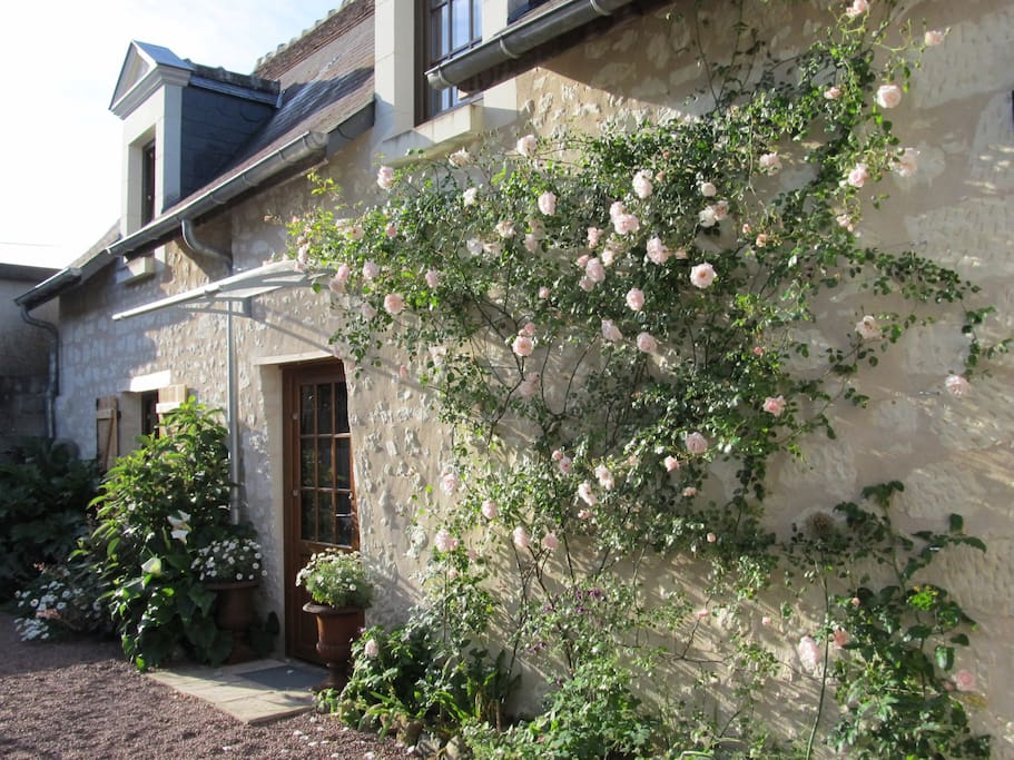 idyllic b b in central loire valley near chinon chambres