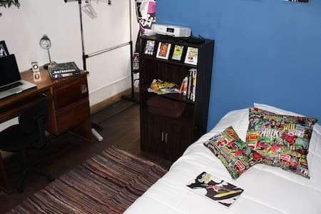 Cozy Comic Room, Great location in San José - Ev