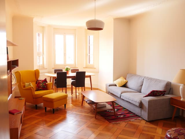 Beautiful & Quiet room - Länggasse - Bern - Apartemen