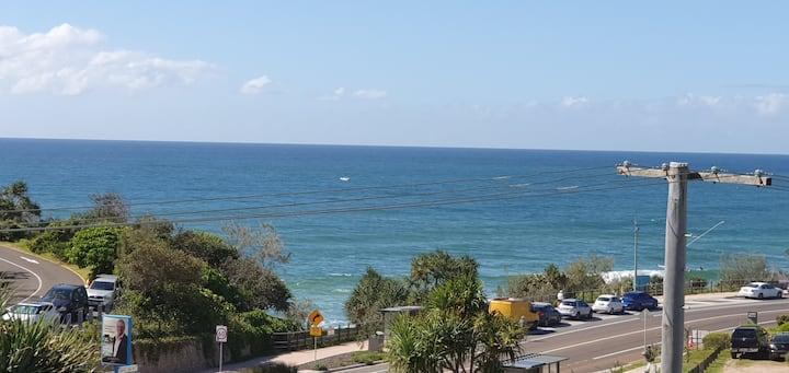 Chic top floor Ocean View Apartment