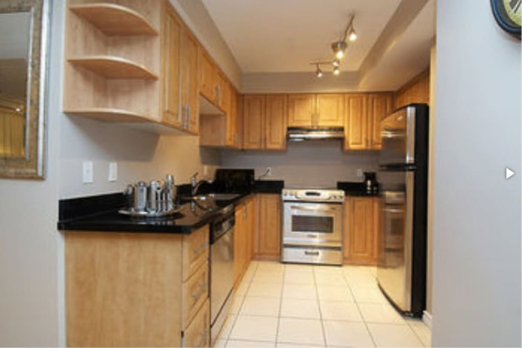 Share kitchen with all you need for your stay