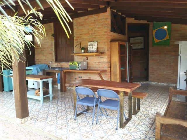 Casa de campo exclusiva e aconchegante em Sousas