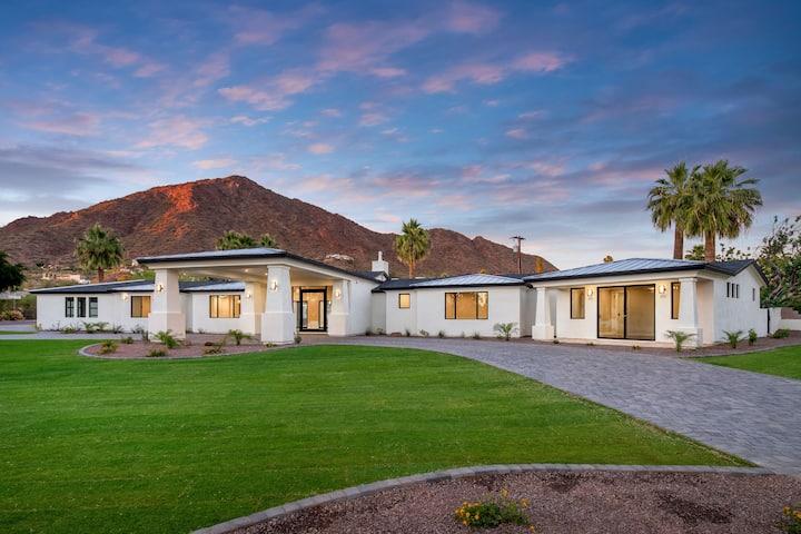 Luxury Resort Style Home on Camelback Mountain
