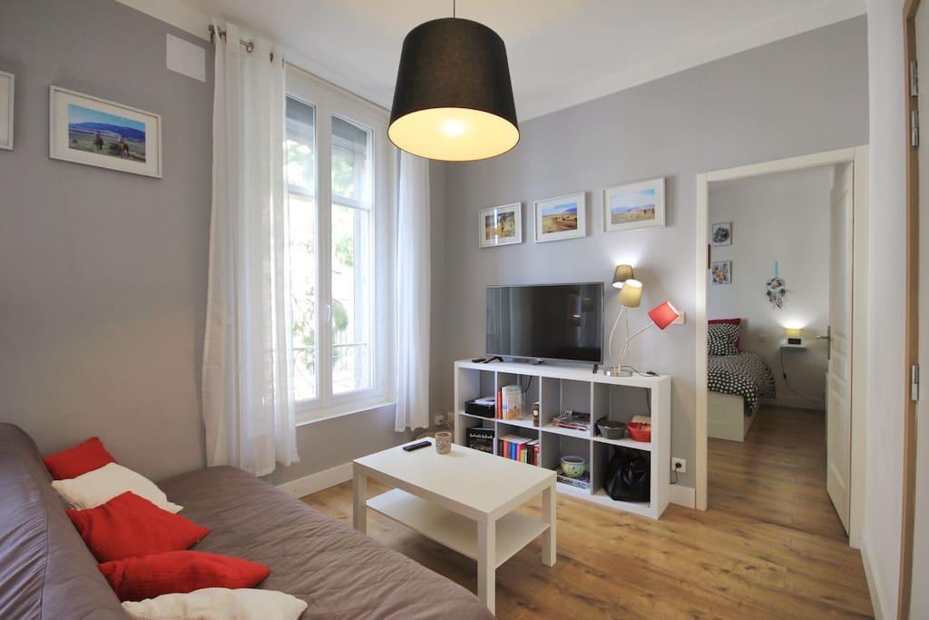 appartement centre historique wifi 1 chambre appartements louer avignon provence. Black Bedroom Furniture Sets. Home Design Ideas