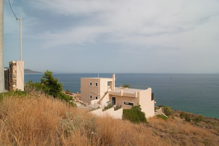 Unlimited view, private beach, peace and quiet - Karistos - Διαμέρισμα