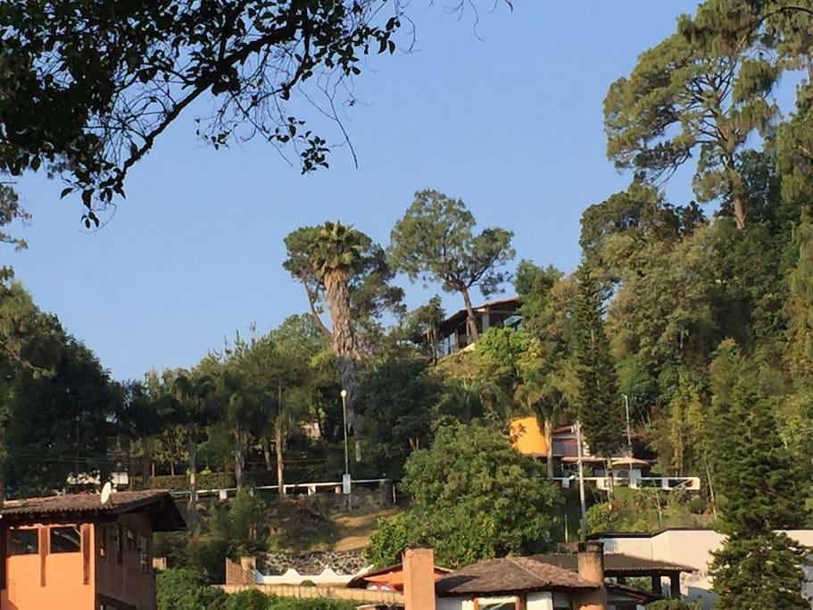 Vista de Villa Vega del Valle desde el campo de golf ⛳️