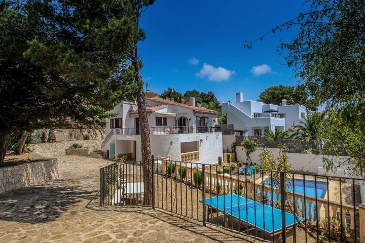 Droomland - sea view villa with private pool in Moraira