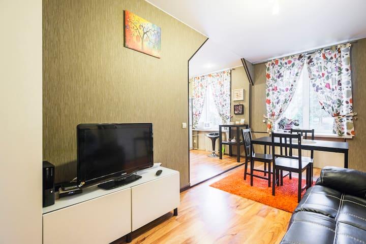 Уютная 3-х комнатная квартира целиком