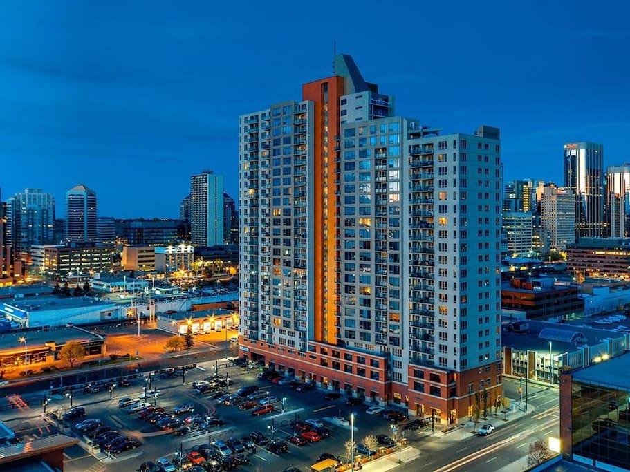 Our building, Vantage Pointe