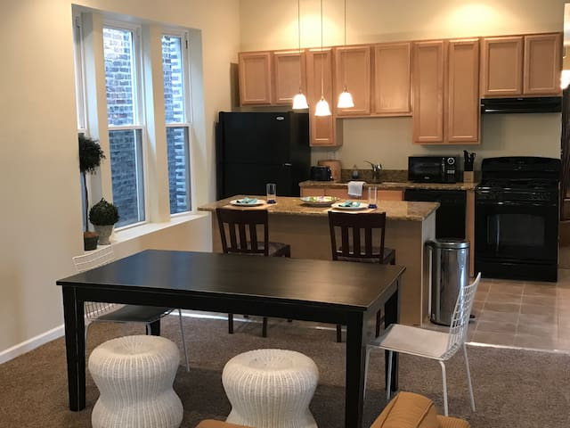Spacious and Comfortable w/ convenient city access - Chicago - Apartment