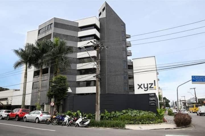 Apto c/ AC, moderno, Central, América - Joinville
