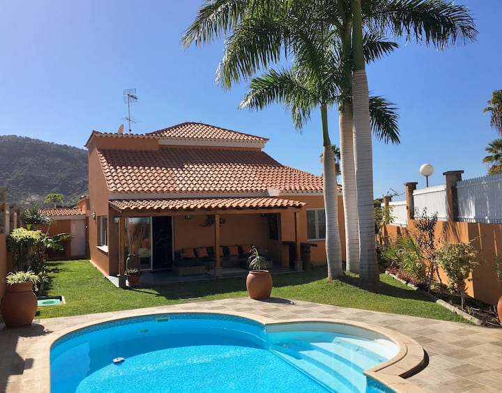Luxury Villa in Tauro Resort. Mogán. Gran Canaria.