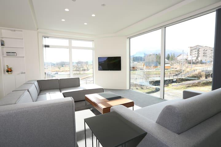 Bluebird Apartments | New Onsen is 150m away.