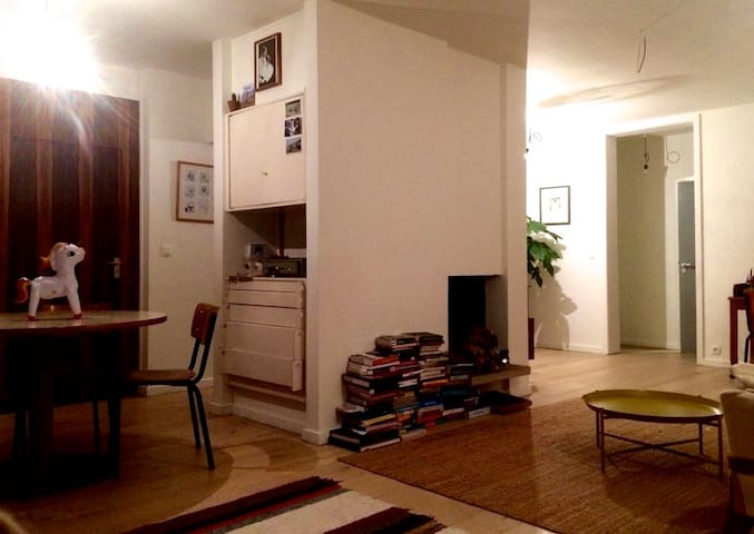 Cosy vintage apartment close to the city centre