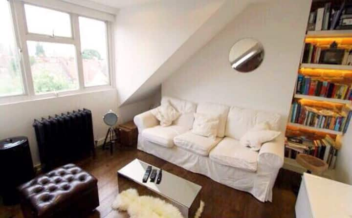 Quirky and modern West London flat.