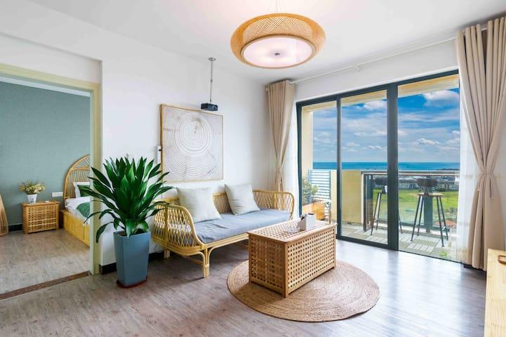 侨港 银滩 码头 高层观海日室一居室