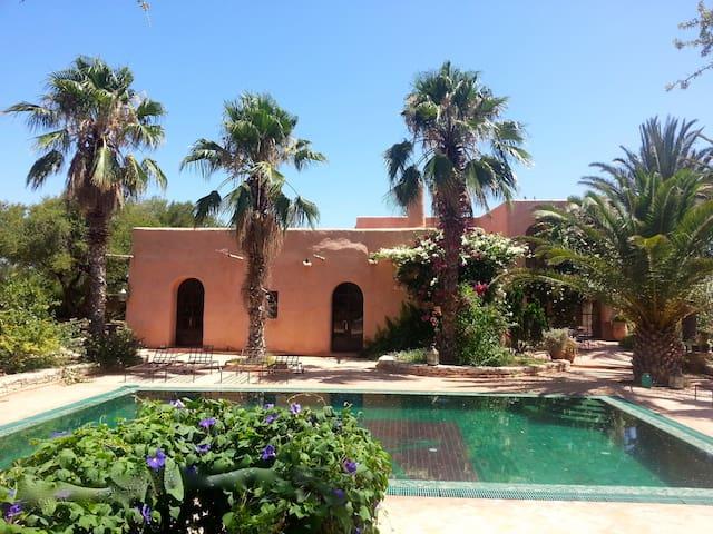 Maison de Campagne avec cuisinier - Essaouira