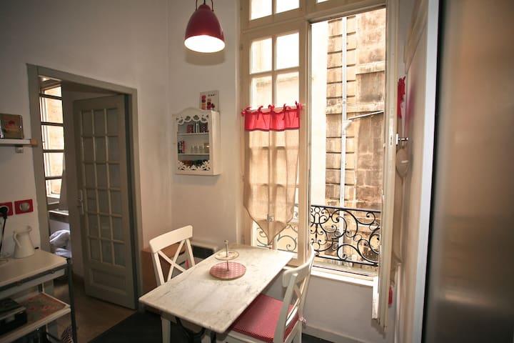 Appartement centre historique t1 31 bordeaux for Appartement t1 bordeaux