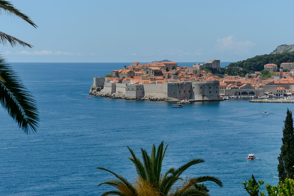 Old Town of Dubrovnik - view