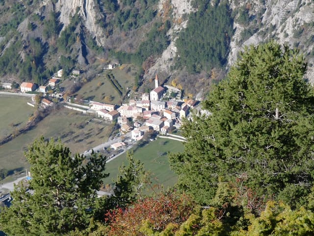 Le village de Prads